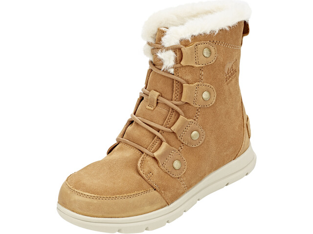 Sorel Explr Joan Boots Dame camel brown/ancient fossil